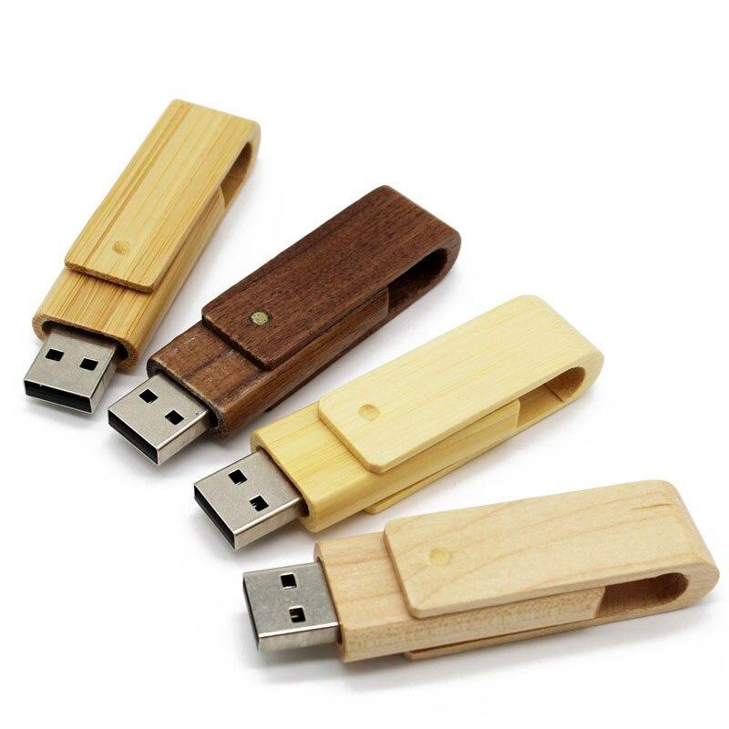 Customize LOGO 64gb USB Flash Drive 4gb 8gb 16gb 32gb Pen Drives Maple Wood Usb Stick