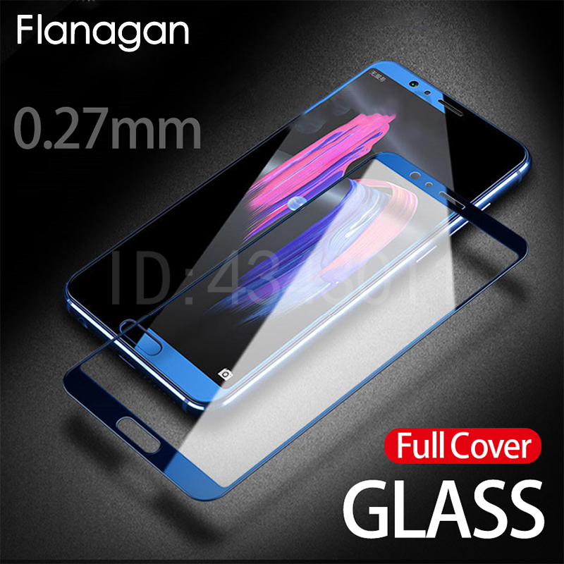 FlanaGan Protective Glass on the For Huawei Honor 9 Lite 10 V10 Tempered Screen Protector Film 0.27mm 2.5D Edge Glass 9Lite Film