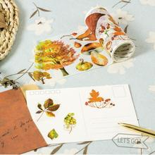 Natural Plant Collection Decorative Washi Tape DIY Scrapbooking Masking Tape School Office Supply Escolar Papelaria