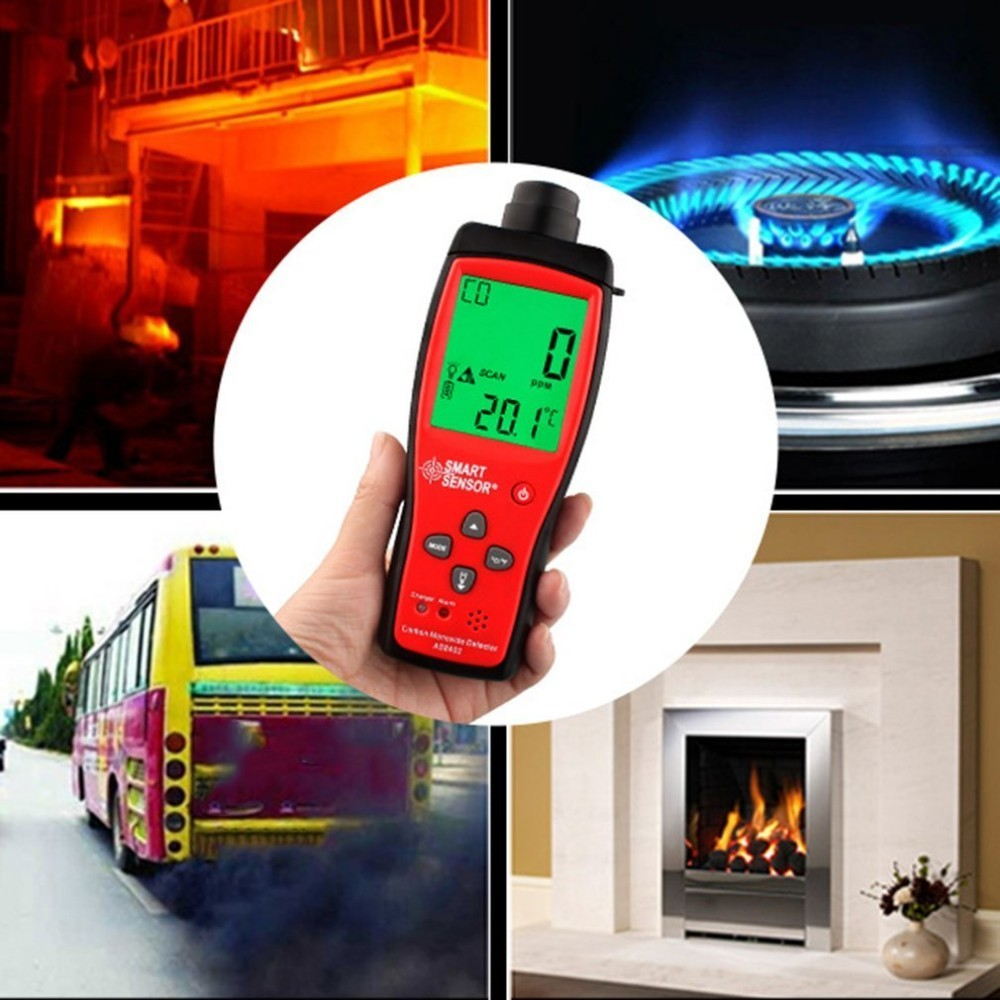 TA8402 Handheld Carbon Monoxide Meter CO Gas Detector Gas Analyzer High Precision detector CO gas Monitor tester CO sensor high precision co gas analyzer handheld co concentration carbon monoxide meter tester lcd gas detector monitor 0 999 ppm