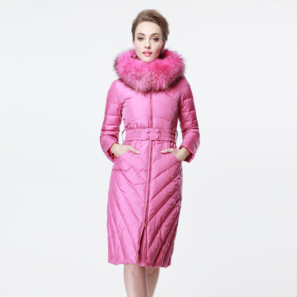 2016 new winter Thicken Warm woman Down jacket Coats Parkas Outerwear Hooded Raccoon Fur collar High end  long plus size 3XXXL 2016 new hot winter thicken warm woman down jacket coats parkas outerwear hooded fox fur collar luxurious long plus size 3xxxl