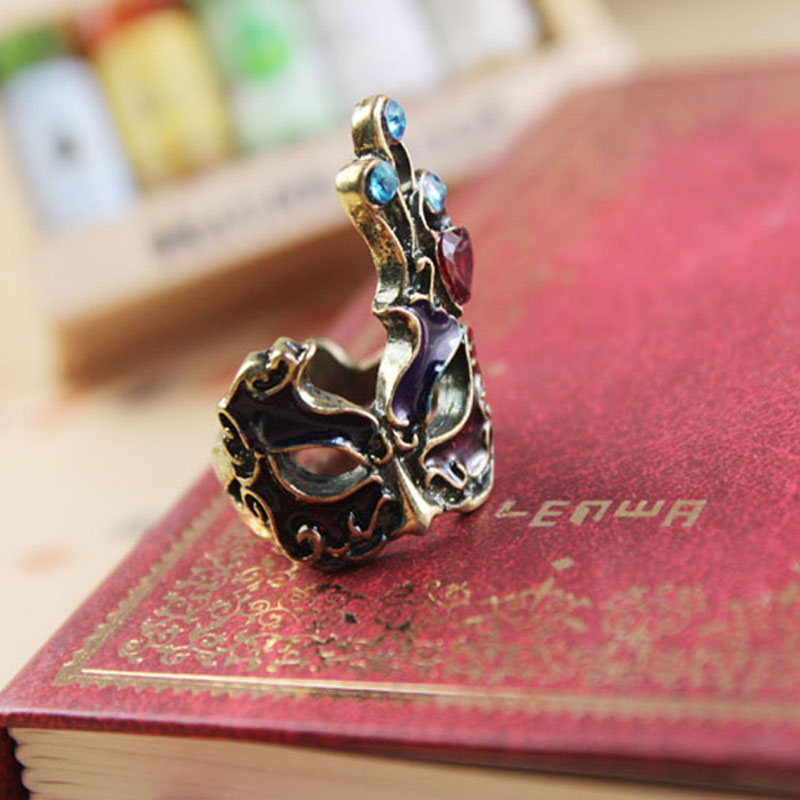 odm rings productimage wholesale fashion plated enamel with china face jewelry mshqribcrowd silver emoji oem