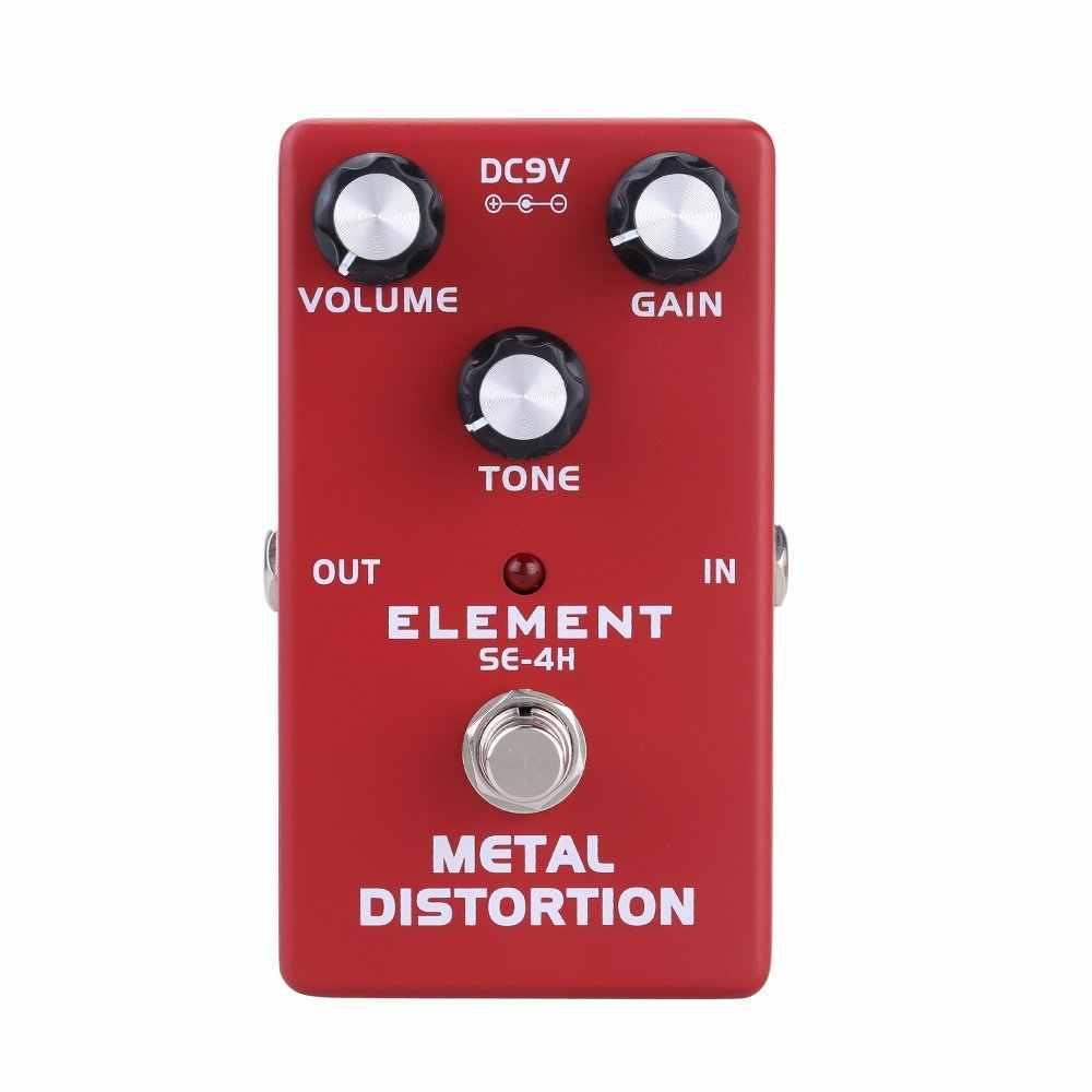 Новое прибытие 3 гитарная педаль овердрайв/высокое усиление искажения/металлическая гитара с эффектом искажения педаль эффектов истинный Обход для гитарных частей