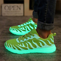 light up shoes 2016 Men Casual Luminous Couples shoes high quality Fashion superstar Fluorescence led shoes WW75