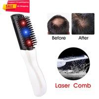 Elektrische Infrarood Laser Haar Groei Kam Hair Styling Haaruitval Groei Behandeling Infrarood Apparaat Massager Brush Us Voorraad