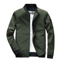 Mens Jackets Fashion Mens Polyester Slim Windbreaker Jackets Coats Man Anorak Streetwear Hip Hop Bomber Zipper Jackets 4XL