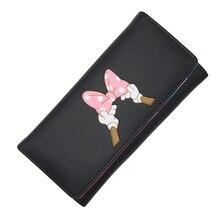 BOTUSI Carton Bow Lady Purses Handbags Brand Design Women Wallet