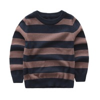 Autumn Cardigan Baby Boy Pullover Striped Sweater For Boy Clothes 100 Cotton High Quality Kids Baby