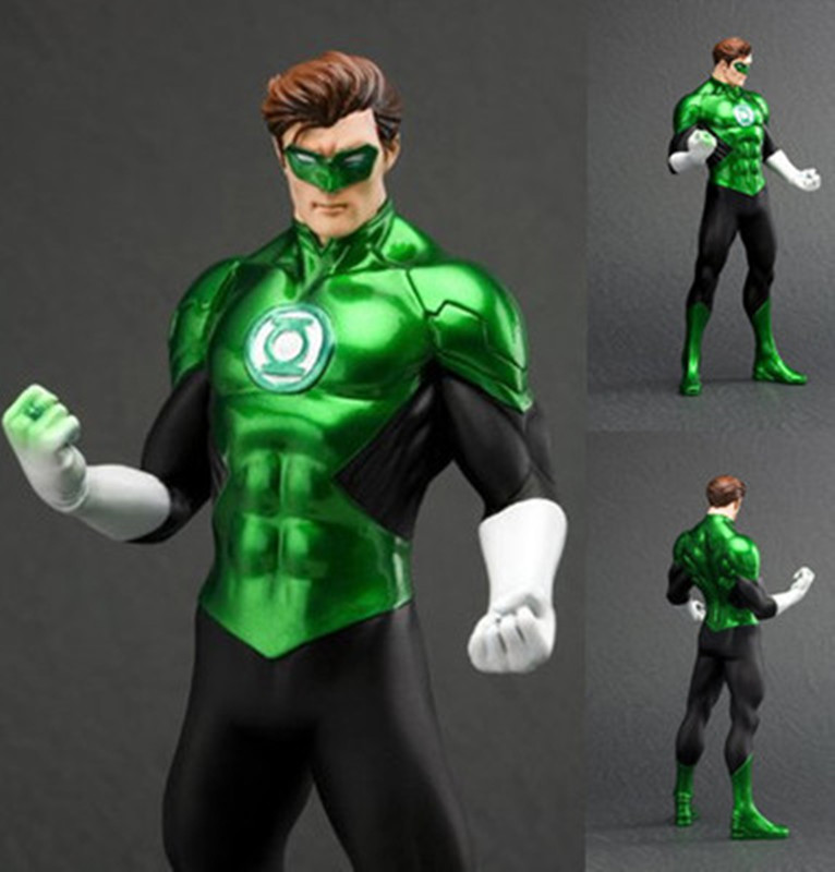 2pcs DC The Flash Green Lantern Action Figure Justice League Hero Toy Collection