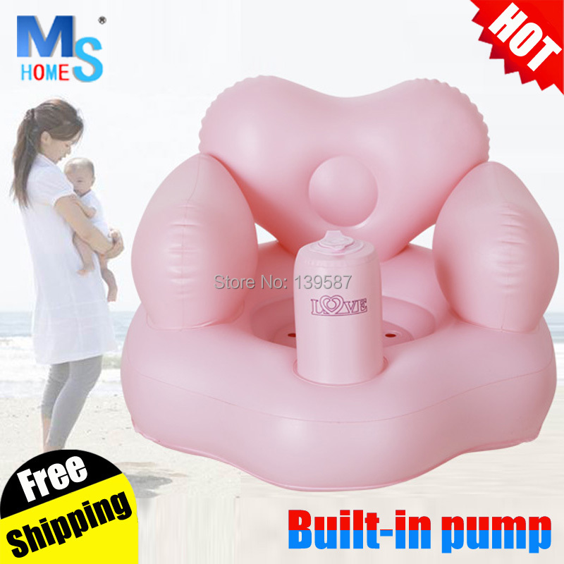 Heart shaped baby chair for bathtub inflatable baby chair for ...