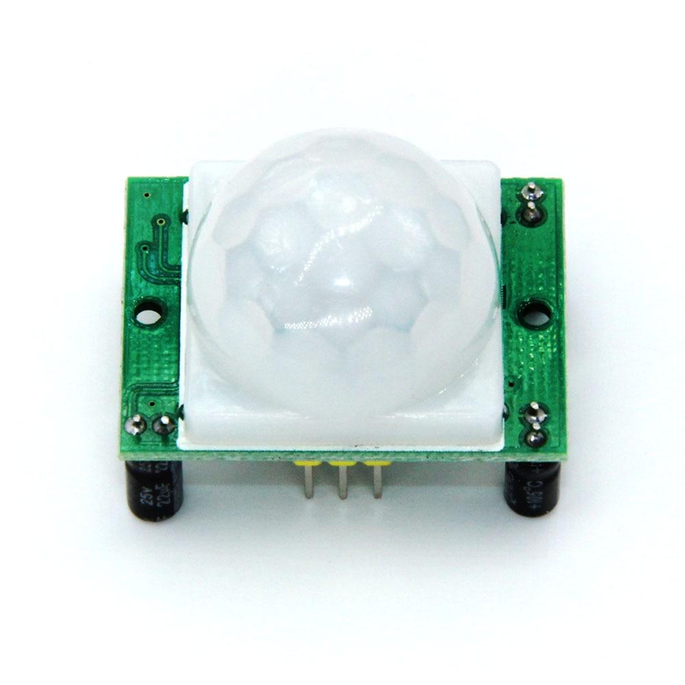 1pcs HC-SR501 Adjust IR Pyroelectric Infrared PIR Motion Sensor Detector Module For Arduino For Raspberry Pi Kits