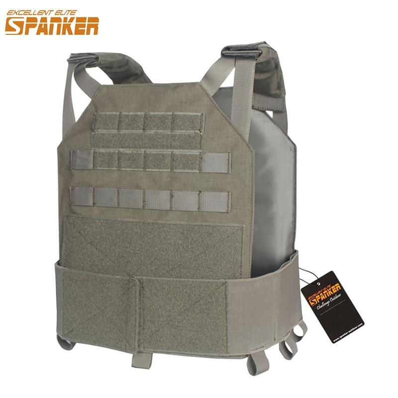 EXCELLENT ELITE SPANKER Jungle Camouflage Military Molle Modular Vests Outdoor Tactical Nylon Vests Hunting Combat Vest