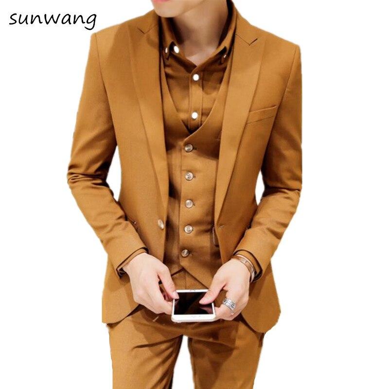 sunwang Brand New Fashion designer yellow red Dark green