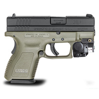 Compact Laser Sight Lasers Pointer For Walther P22 Self Defense Weapons W/E Adjustable Rail Mounted Laser Aimer Scope