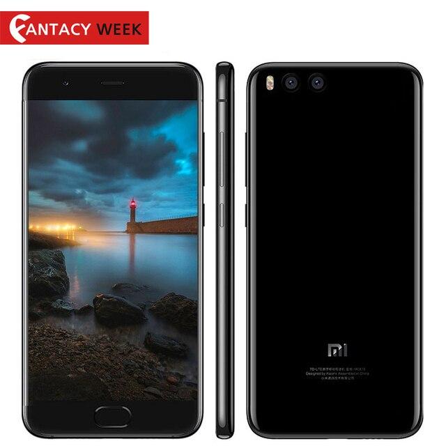 """Оригинал Сяо Mi Mi6 Mi 6 Snapdragon 835 восьмиядерный смартфон 6 ГБ 64 ГБ отпечатков пальцев ID FDD 5.15"""" FHD Miui 8 NFC ОС Android 7.1"""