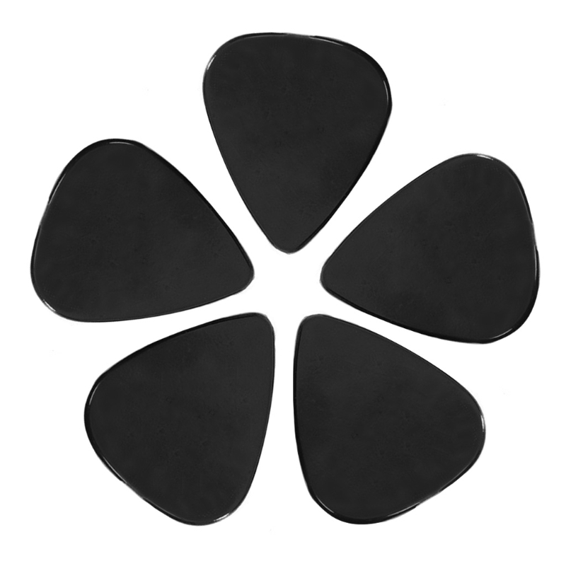 100pcs Black Acoustic Electric Guitar Picks 0.71mm Plectrums Musical Instrument