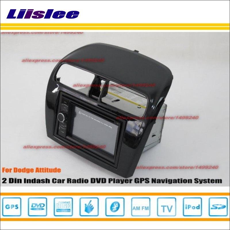 Liislee для Dodge Attitude 2012 ~ 2014 Радио стерео CD dvd-плеер GPS Nav HD touch аудио-видео S100 nav Navi навигация Системы