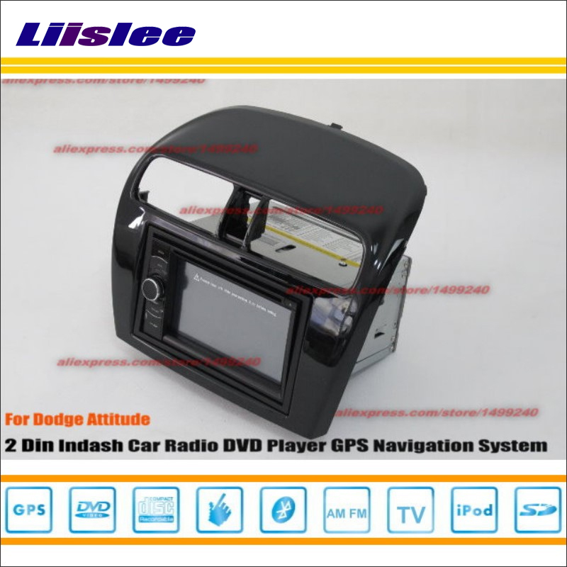 Liislee For Dodge Attitude 2012~2014 Car Radio Stereo CD DVD Player GPS NAV HD Touch Audio Video S100 Nav Navi Navigation System