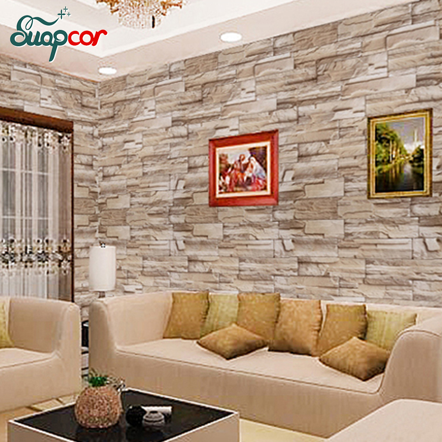 3m Pvc Waterproof Home Decor Wall Stickers Vertical: Aliexpress.com : Buy 0.6*3m Brick Vinyl Self Adhesive