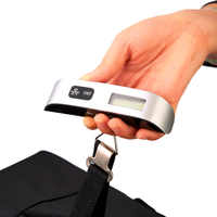 New Portable LCD Display Electronic Hanging Digital Luggage Weighting Scale 50 kg / 110 lb Weight Scales hot sale