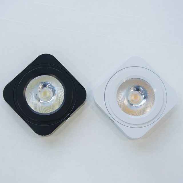 NO Dimmable Mini COB LED Downlight Surface Mounted 7W Led Panel ...