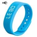 Мода Bluetooth Smartwatch в реальном времени показывая Водонепроницаемый Смарт Браслет СВЕТОДИОДНЫЙ экран фитнес-трекер спорта смарт-часы браслет