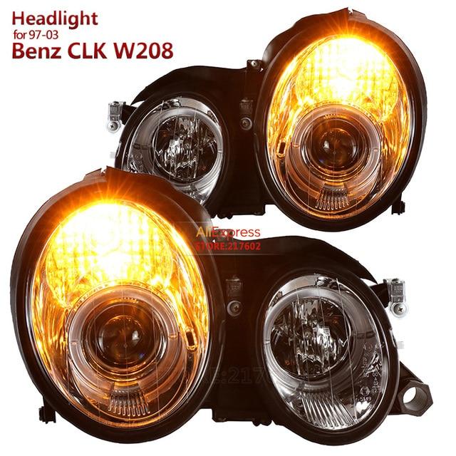 mercedes clk 320 headlights