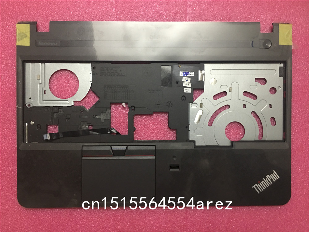 New laptop Lenovo ThinkPad E550 Touchpad Palmrest cover/The keyboard cover with Fingerprint FRU 00HT611 new laptop lenovo thinkpad e450 touchpad palmrest cover the keyboard cover fru 00ht608