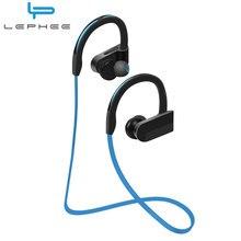 LEPHEE K98 Headphone Bluetooth Earphone For Xiaomi Phones Tablet PC Wireless Stereo Sport Earpiece Microphone MP3 Music Ear-Hook