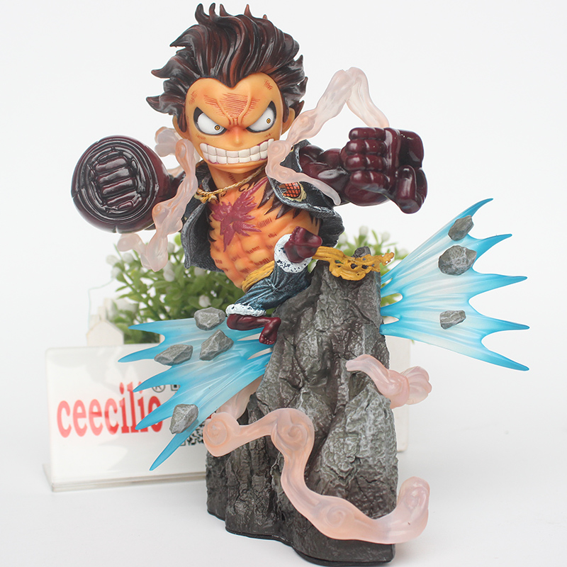 Anime One Piece Monkey D Luffy PVC Figure Luffy GK Gear Fourth Ver. Collectible Model Toy 20cm