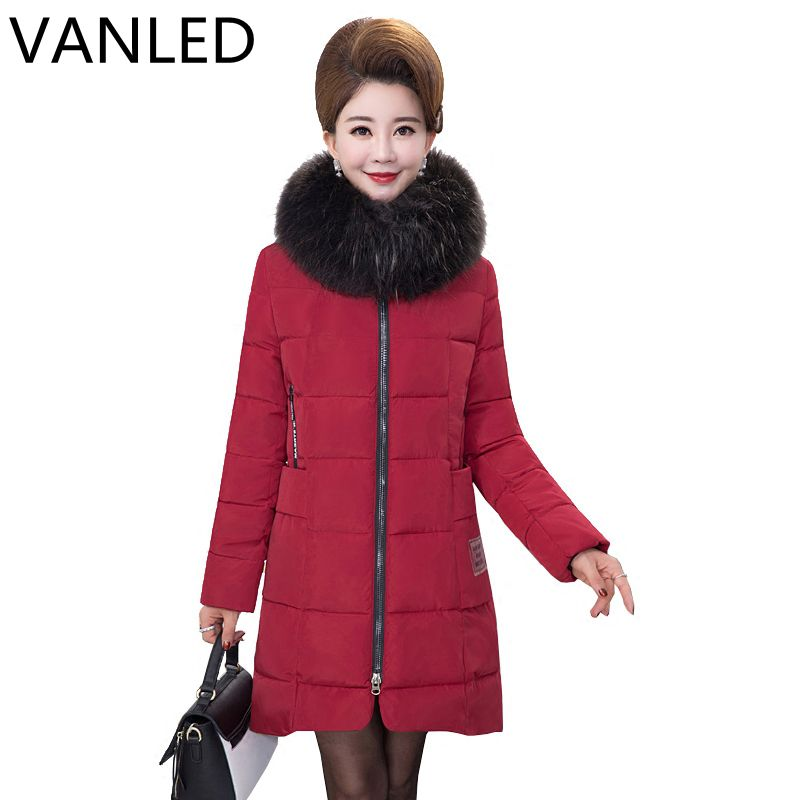 2017 Limited Time-limited Womens Winter Jackets And Coats Mama Loaded Cotton In The Long Section Of Women's Thick Winter Jacket limited