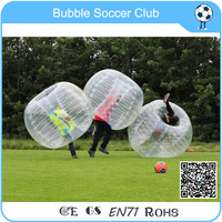 Cheap price ! 1.2m Inflatable bumper ball/bubble football/body zorbing bubble ball for kids