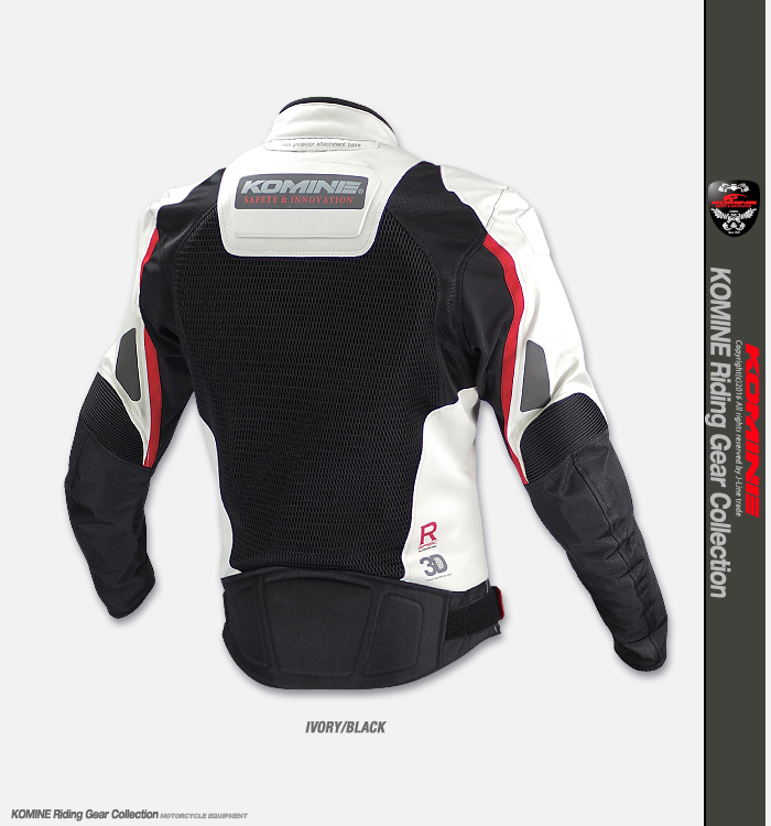 KOMINE JK-092 R Spec Sports Mesh Jacket Lombardo 2