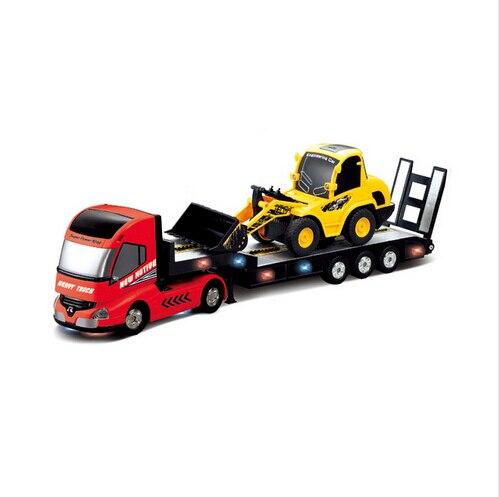 RC Camion 6CH Multi-fonction Remorque Télécommande Semi-Camion Voiture Automatique Électronique Camion Modèle Enfants Passe-Temps