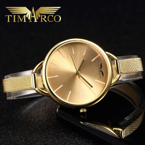 TIMARCO Top Brand Luxury Watches Ultrathin Women Wristwatch Quartz Clock Casual Hodinky Simple Ceasuri Montre Femme Reloj Mujer timarco m26 blue
