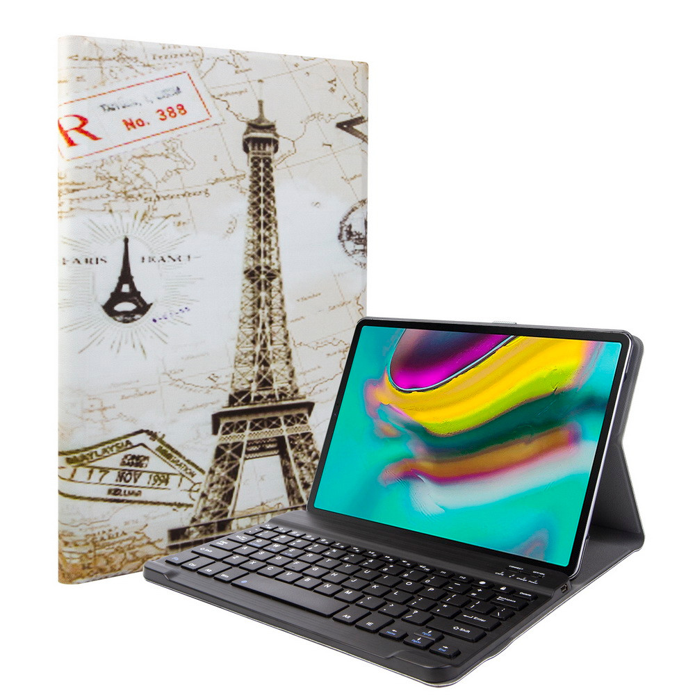 For Samsung Galaxy Tab A 10.1 2019 SM-T510 T515 BT Keyboard With Case Cover Protective Shell Skin Rechargeable Y20