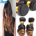 Brazilian Virgin Hair Ombre Brazillian Loose Wave 2 Bundles 8A Ombre Hair Extensions Unprocessed Virgin Brazilian Hair Bundles