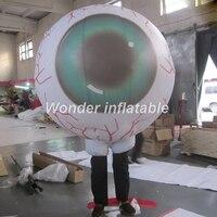 2017 venda Quente traje para a publicidade em movimento inflável globo ocular