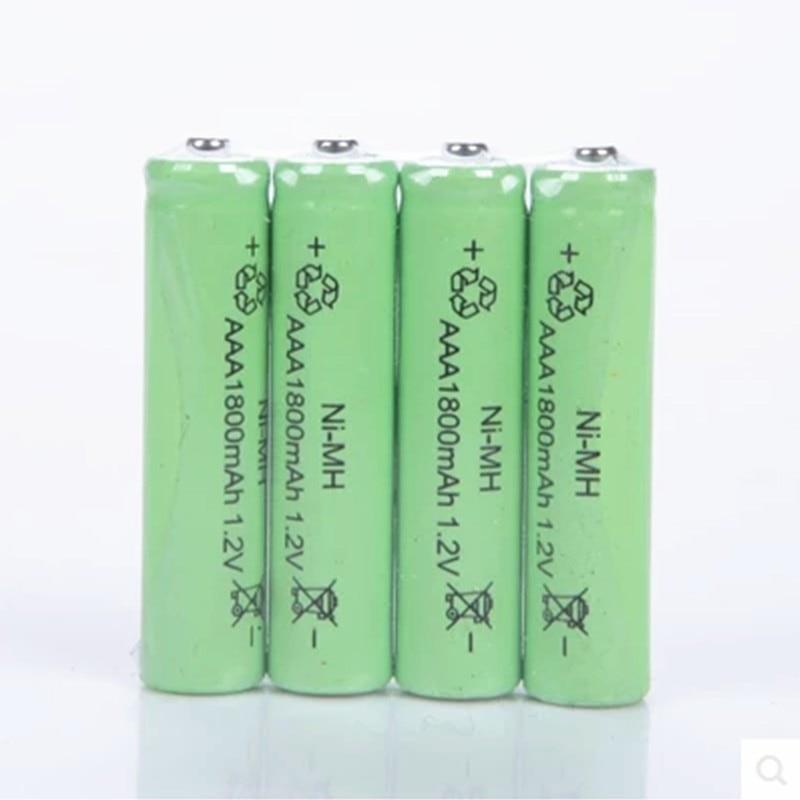 3X 1800MAH TBUOTZO 1.2v AAA 3A NIMH High Energy AAA Battery Rechargeable aaa Batteria Ni-MH batteries battery rechargeable