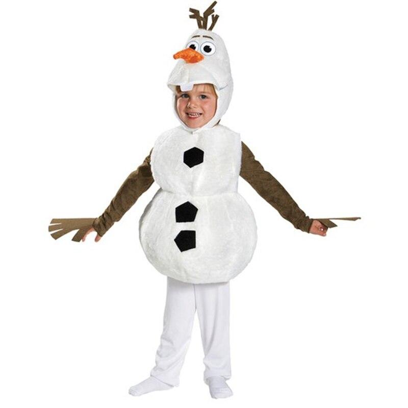 Костюм; Детский костюм для костюмированной вечеринки; Пижама «Снеговик»; Комбинезон для маленьких мальчиков и девочек на Хэллоуин; подарок
