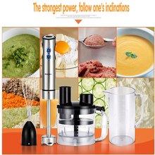 1PC Multifunctional Household Electric Salad cutter Hand Stick Blender Egg Whisk Mixer Juicer Meat Food Processor