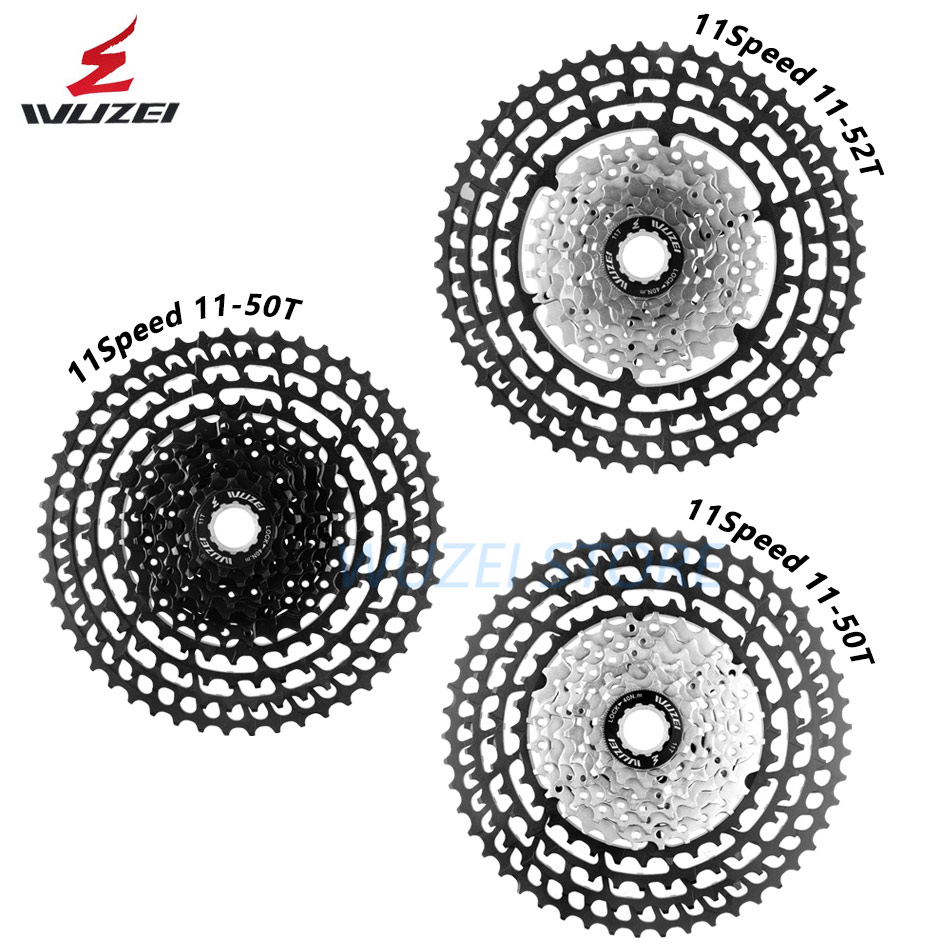 WUZEI 10/11/12 Speed 11-50T Cassette Ultralight Freewheel 46T 52T Aluminum Alloy MTB  Bike Bicycle flywheel For Shimano GXWUZEI 10/11/12 Speed 11-50T Cassette Ultralight Freewheel 46T 52T Aluminum Alloy MTB  Bike Bicycle flywheel For Shimano GX