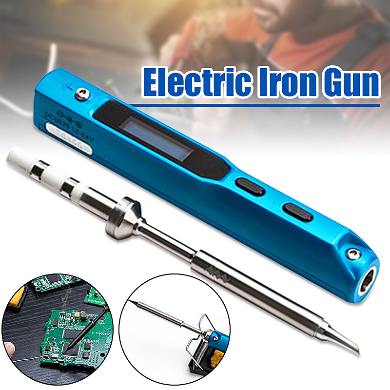 Portable 65W Programmable TS100 Electric Soldering Iron Digital LCD Easy-dismount Design Space Saving With Russian Manual digital design manual