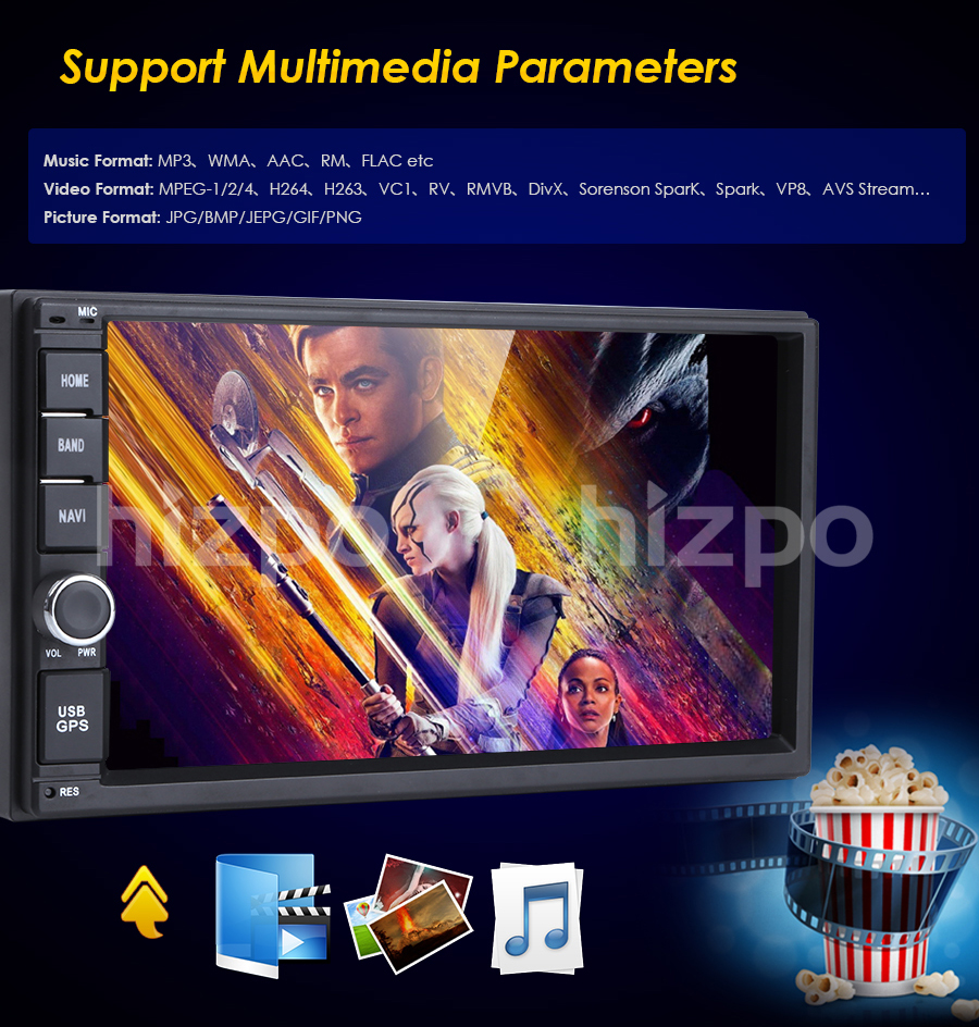 universal 2 din android 7.1 car radio Car Multimedia Player for nissian Car PC Table car audio vehicle gps Navigation WIFI 0BD2