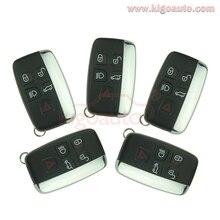 5 unids para Land Rover Range Rover Sport para Evoque Discovery 4 tecla inteligente 433 mhz 5 botón remoto sin llave