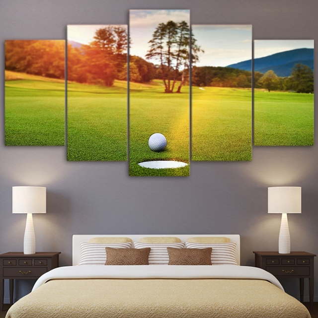 Canvas HD Printed Modern Pictures Framed Wall Art Photo Home Decor 5 ...