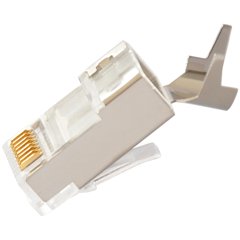 rj45 cat7 connector 8p8c shielded connectors cat 7 plug. Black Bedroom Furniture Sets. Home Design Ideas