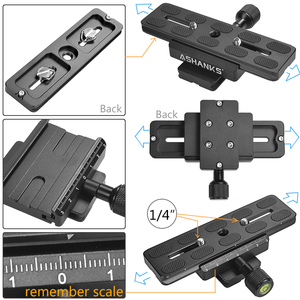 Image 5 - Ashanks S40 40 センチメートルハンドヘルドスためステディカムキヤノンニコン移動プロaeeデジタル一眼レフビデオカメラLY08
