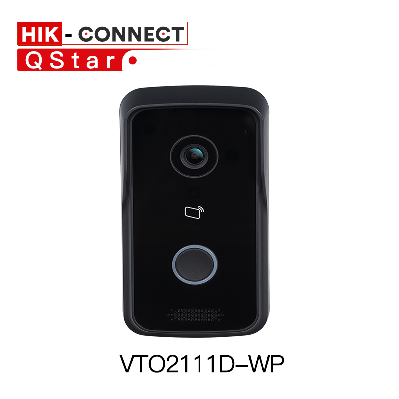 DH VTO2111D-WP wifi Video Intercom Doorbell WIFI IP Villa Outdoor Station intercom Video Door Phone DC12V POE without logo free shipping video intercom dahua video door phone building intercom apartment outdoor station system without logo vto1210a x
