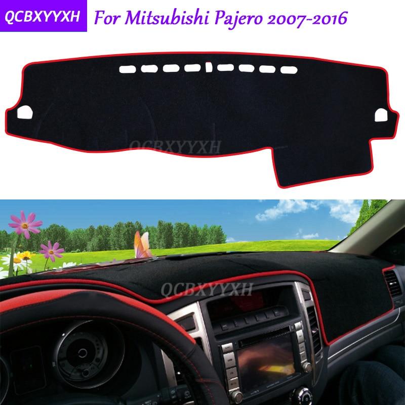 Для Mitsubishi Pajero 2007-2016 коврик для приборной панели защитный интерьер Photophobism коврик теневая Подушка автомобильный Стайлинг авто аксессуары